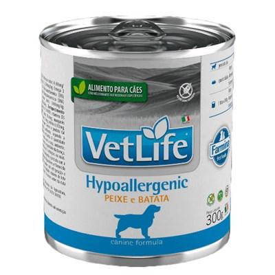 Alimento Úmido Vet Life para Cães Adultos Hypoalergenic Peixe 300gr