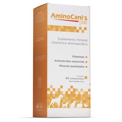 Amino Cani's Pet suplemento para cachorros 60 comprimidos