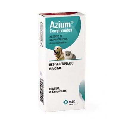 Anti inflamatório Azium para Cães e Gatos com 20 Comprimidos