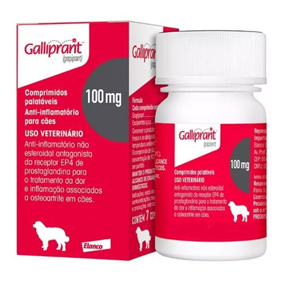 Anti Inflamatório Galliprant 100mg para Cães