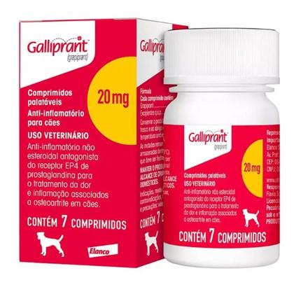Anti Inflamatório Galliprant 20mg para Cães