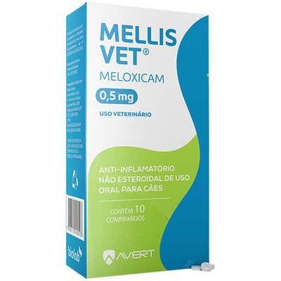 Anti Inflamatório Mellis Vet para Cães com 10 Comprimidos
