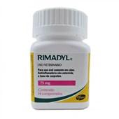 Anti Inflamatório Rimadyl para Cães com 14 Comprimidos 75mg