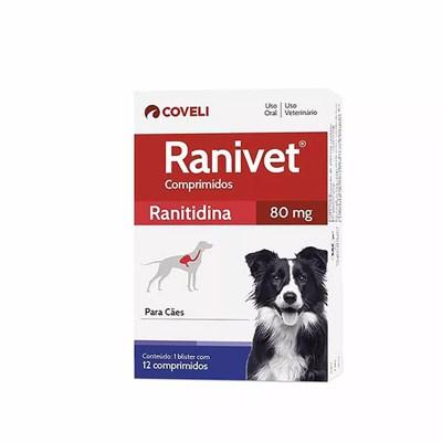 Antiácido Ranivet para Cães 12 Comprimidos