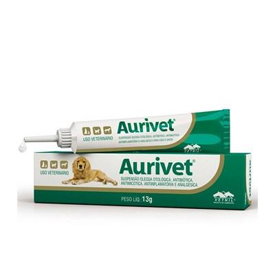 Antibiótico Aurivet para Cães e Gatos 13gr