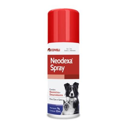 Antibiótico Neodexa Spray para Cães e Gatos 125ml