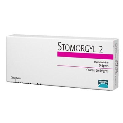 Antibiótico Stomorgyl para Cães e Gatos 2,0 mg