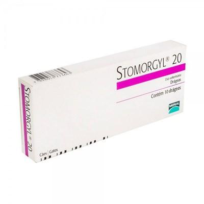 Antibiótico Stomorgyl para Cães e Gatos 20mg