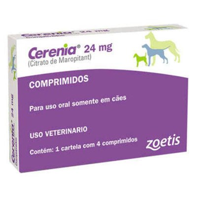 Antiemético  Cerenia Tables com 4 comprimidos 24mg