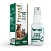 Antimicrobiano Furanil Spray para Cães e Gatos 60ml