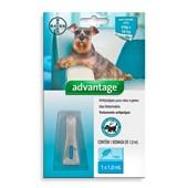 Antipulgas Advantage para Cães e Gatos 1,0 ml