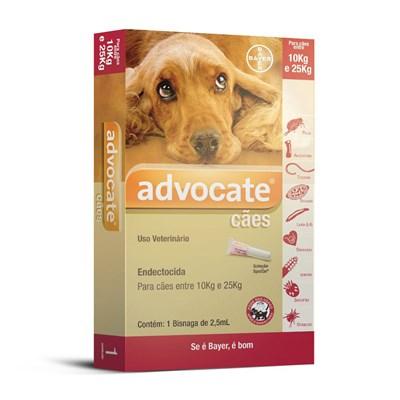 Antipulgas Advocate para Cães de 10 a 25kg 1Un