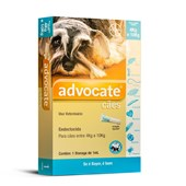 Antipulgas Advocate para Cães de 4 a 10kg 1Un