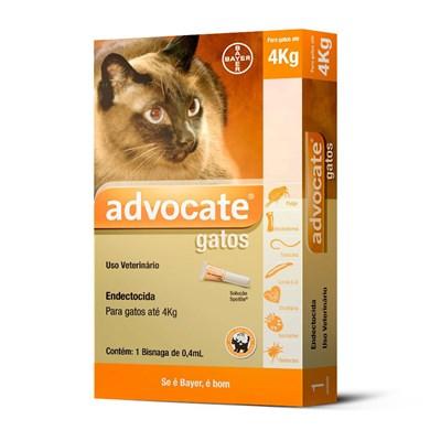 Antipulgas Advocate para Gatos de até 4kg 1Un