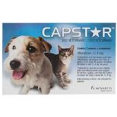 Antipulgas Capstar 11,4mg para Cães e Gatos 1Un