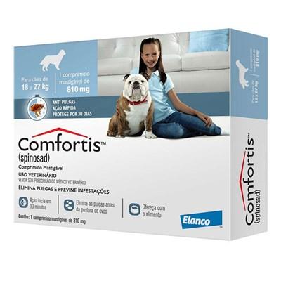 Antipulgas Comfortis para Cães de 18kg a 27kg 1Un