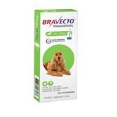 Antipulgas e Carrapatos Bravecto Transdermal para Cães em Pipetas 500mg
