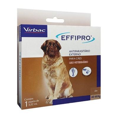 Antipulgas e Carrapatos Effipro para Cães 4,02 ml