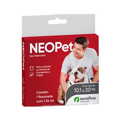 Antipulgas e Carrapatos Neo Pet para Cães 1,34 ml