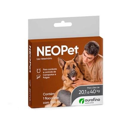 Antipulgas e Carrapatos Neo Pet para Cães 2,68 ml