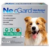 Antipulgas e Carrapatos Nexgard G para Cães de 10 a 25kg 1Un
