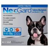 Antipulgas e Carrapatos Nexgard M para Cães de 4 a 10kg 3Un