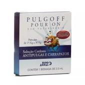Antipulgas e Carrapatos Pulgoff Pour On para Cães 2,0 ml