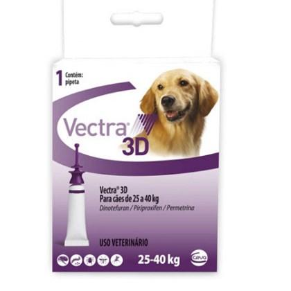 Antipulgas e Carrapatos Vectra de 25kg a 40kg para Cães 1Un