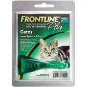 Antipulgas Frontline Plus para Gatos até 10kg 0,5 ml
