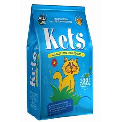 Areia Higiênica Kets Granulado para Gatos 4,25 kg