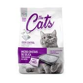 Areia Higiênica The Cats Micro Cristais Silica Gatos 1,6kg
