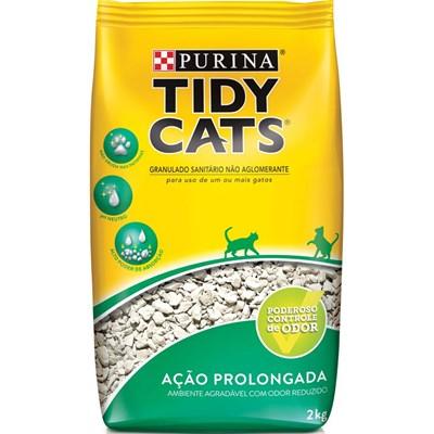 Areia Higiênica Tidy Cat para Gatos 2kg