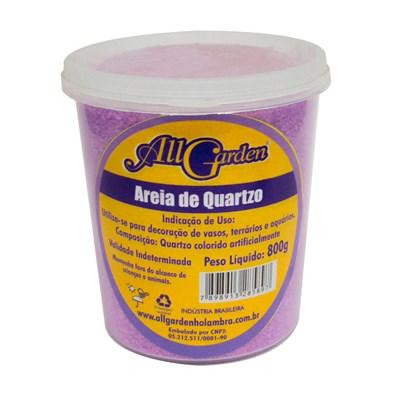 Areia Quartzo All Garden 800gr Lilás