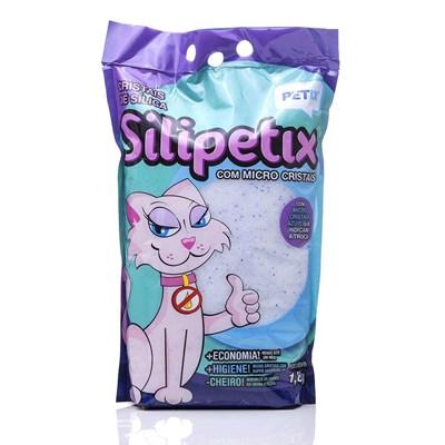 Areia Sílica Silipetix Micro para Gatos 1,8kg