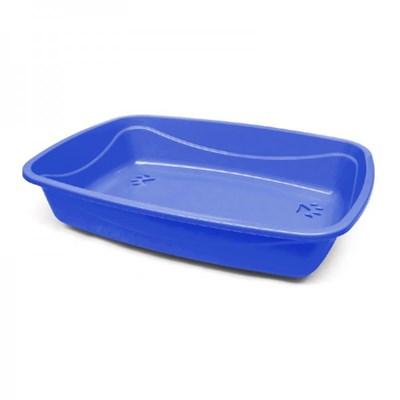 Bandeja Pet Injet Higiênica Luxo Patas Azul