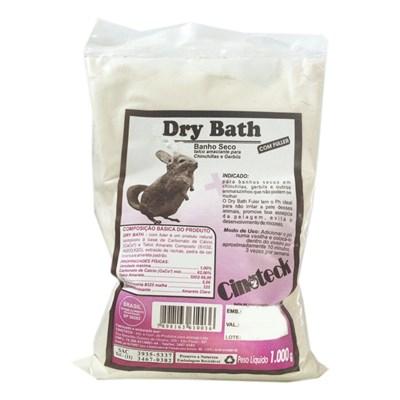 Banho a Seco Cinoteck Dry Bath Chinchila   Fuller 1kg