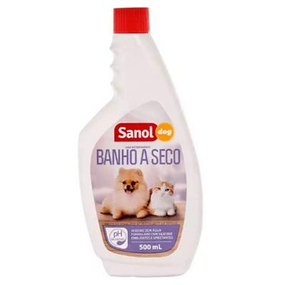 Banho a Seco Sanol Dog para Cães e Gatos 500ml