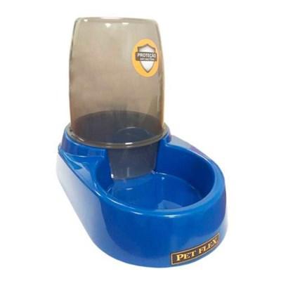 Bebedouro Bistrô Automático para Cães Pet Flex Azul