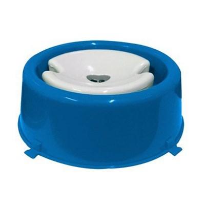 Bebedouro Furacão Pet para Cães de Pêlos Longos Azul 1L