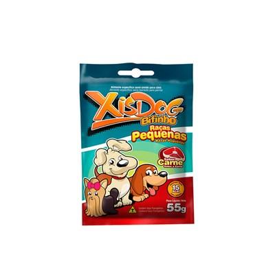 Bifinho Xisdog para Cães de Raças Pequenas Sabor Carne 55gr