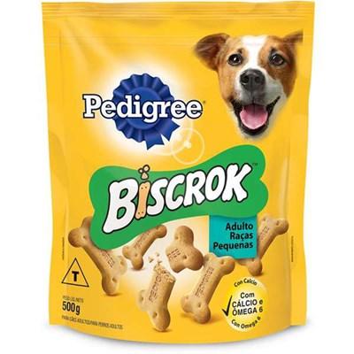 Biscoito Biscrok para Cães Adultos de Raças Pequenas 500gr