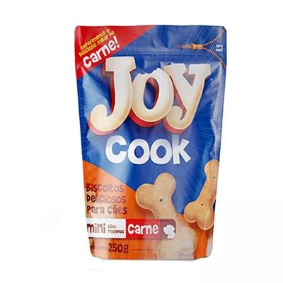 Biscoito Joy Cook para Cães Adultos de Raças Pequenas Carne 250gr