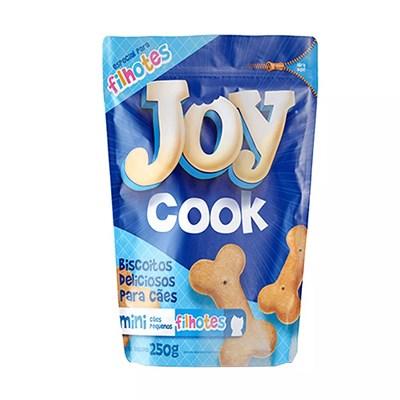 Biscoito Joy Cook para Cães Filhotes de Raças Pequenas 250gr