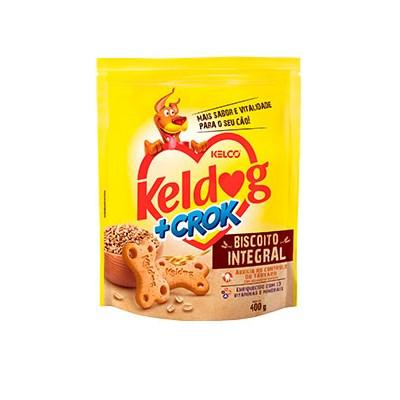 Biscoito Keldog mais Crok Integral para Cães 400gr