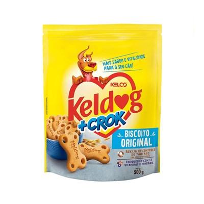 Biscoito Keldog mais Crok Original para Cães 900gr
