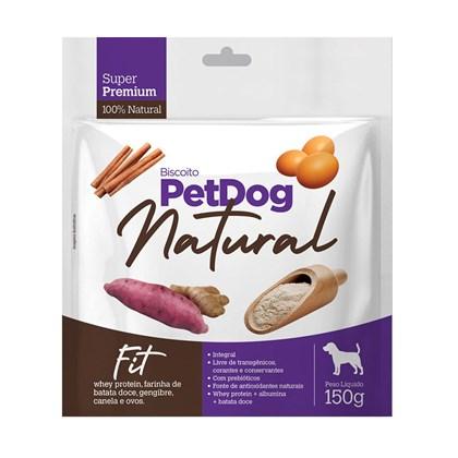 Biscoito Pet Dog Natural Fit para Cães 150gr