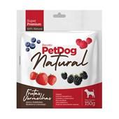 Biscoito Pet Dog Natural Frutas Vermelhas para Cães 150gr