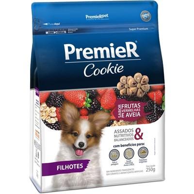 Biscoito Premier Cookie Frutas Vermelhas para Cães Filhotes 250gr
