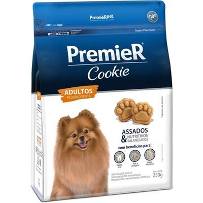 Biscoito Premier Cookie para Cães Adultos de Raças Pequenas 250gr