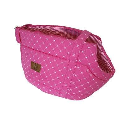 Bolsa Coroa para Cães e Gatos Pink G